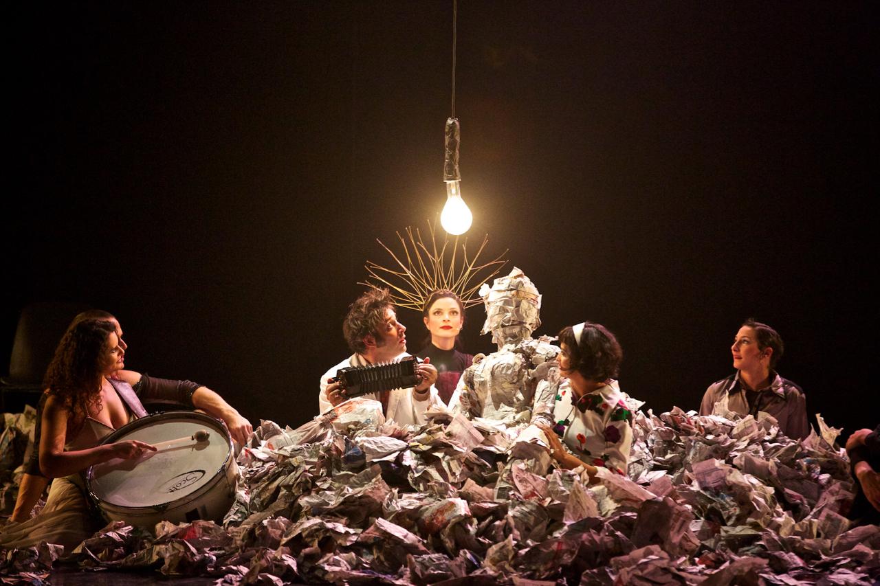 Cirque Bouffon, Franziska Böhm, Solvo, Sängerin